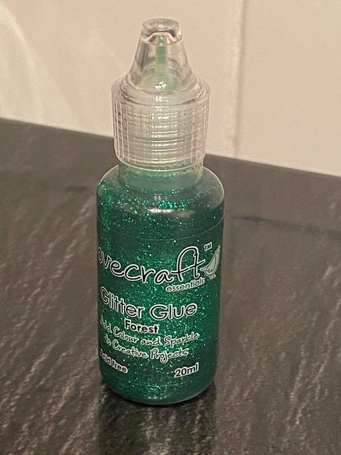 GLITTER GLUE BY DOVECRAFT GREEN - 20ML