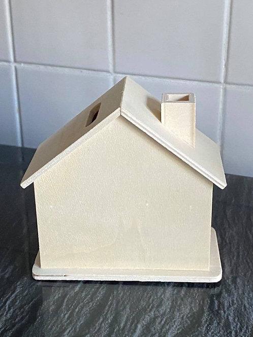 PLYWOOD MONEY BOX HOUSES