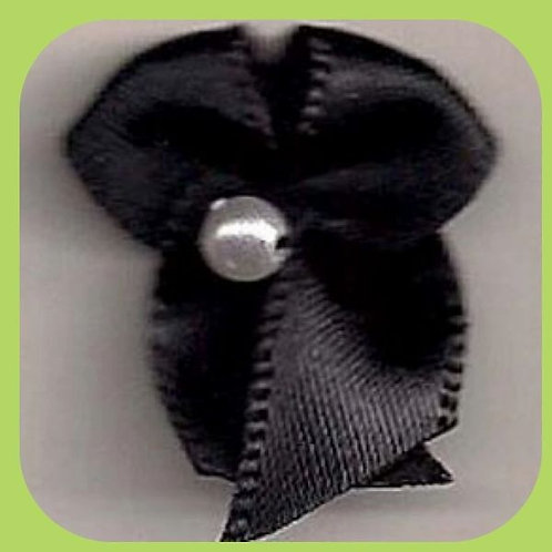 PEARL BOWS BLACK - 10 PACK