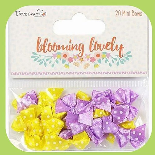 BLOOMING LOVELY MINI BOWS X 20