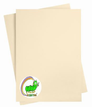 SAND - CARD STOCK - A4 X 10 SHEETS - 180 GSM