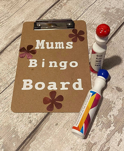 BINGO BOARD - PERSONALISED - ANY NAME WORDING OR SHAPE
