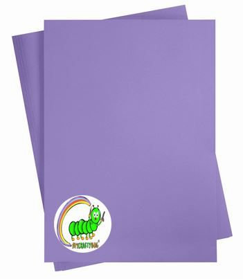 PURPLE CARD STOCK - 10 X A4 SHEETS -180 GSM