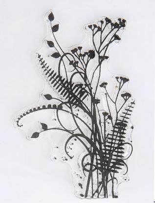grasses stamp - image 1 -Fern Grasses