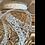 Thumbnail: Eleganza Guipure Satin Lace Ribbon 15mm  - Ivory