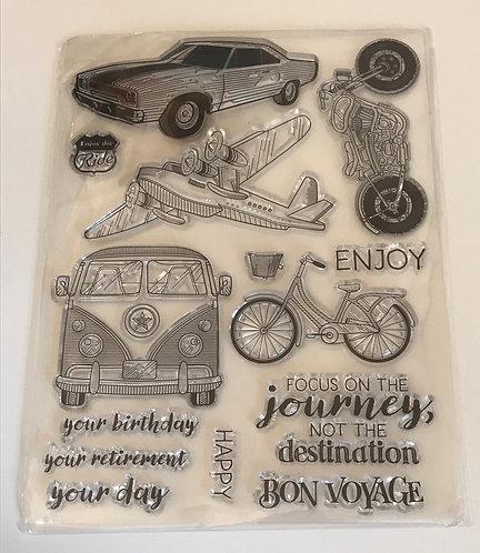Vehicles & Travel Stamp Set
