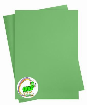 GRASS GREEN A4 CARD STOCK X 10 SHEETS - 180 GSM