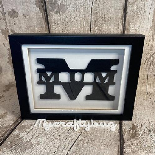 Mum Frame - Monochrome