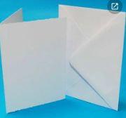 A6 CARD BLANKS & ENVELOPES - 10 PACK