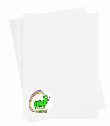 WHITE CARD STOCK 180GSM - 10 X A4 SHEETS