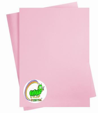 PINK- 10 X A4 SHEETS - 180 GSM