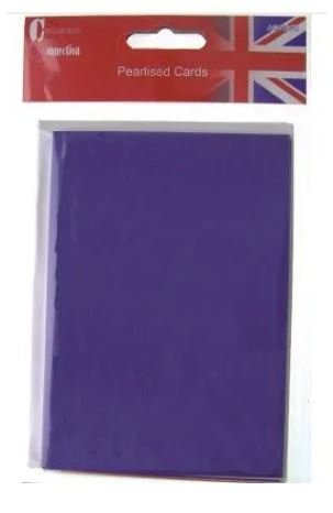 CARD BLANKS & ENVELOPES - RED, WHITE & BLUE