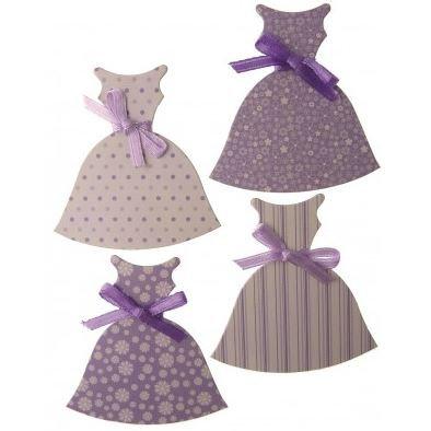 DRESSES PACK PURPLE - CO-ORDINATE RANGE - 5 PACK