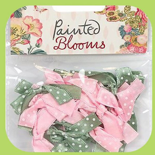 PAINTED BLOOMS MINI BOWS 20 PACK