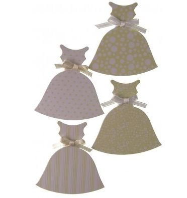 DRESSES PACK WHITE/CREAM - CO-ORDINATE RANGE - 5 PACK