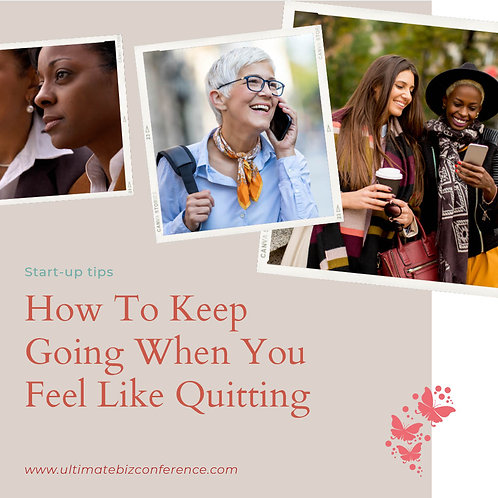 Don't Quit E-Book