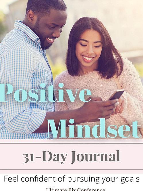 UBC Startup Biz Entrepreneurial 31 Day Mindset Journal
