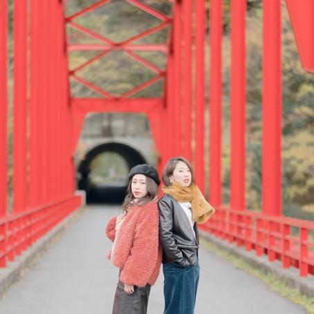 はらみかさん・阿部恵美さん 君津市上総 ODAIBA撮影会・ロケ撮