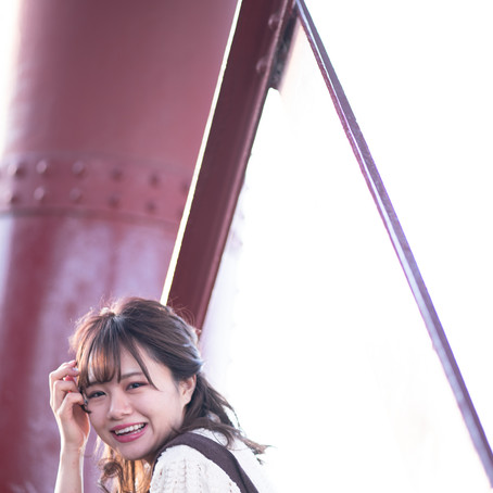 yunaさん 堺市大和川 シャドウライツ撮影会