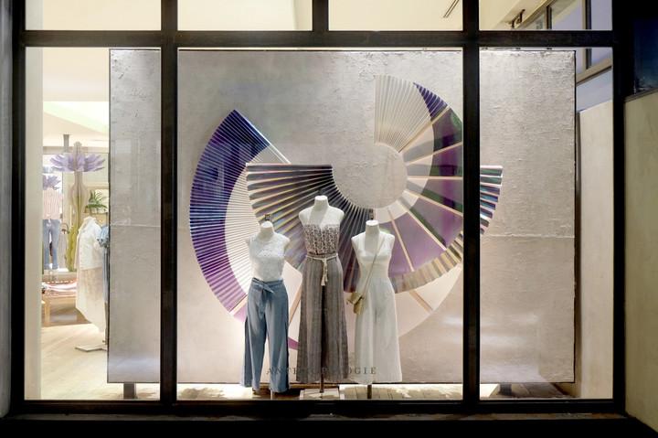 Summer Retail Window Display