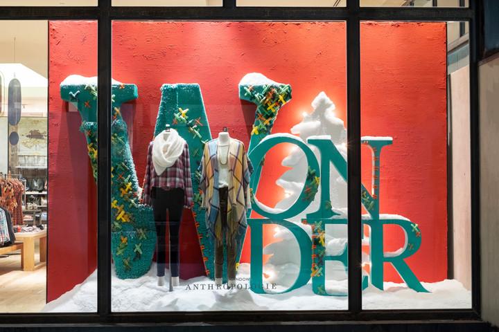 Holiday Retail Window Display 5