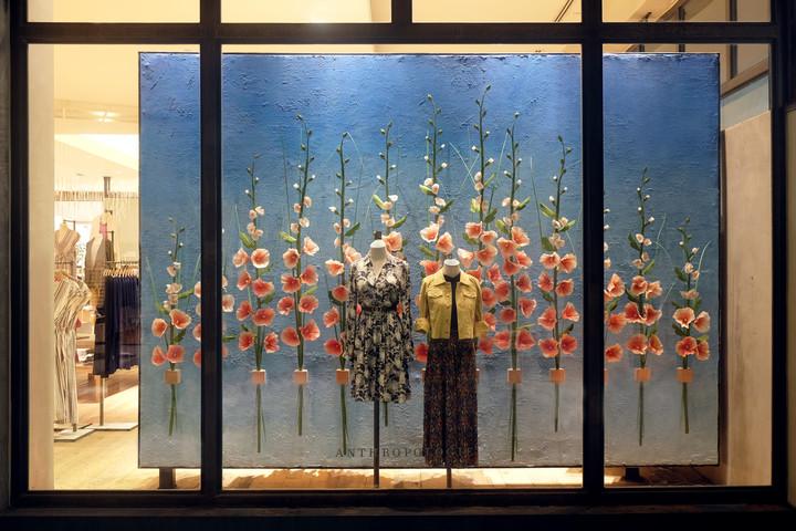 Spring Retail Window Display