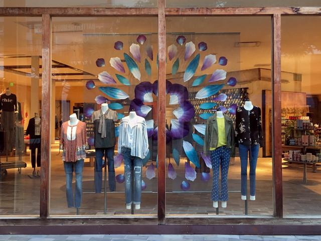 Spring Retail Window Display 4