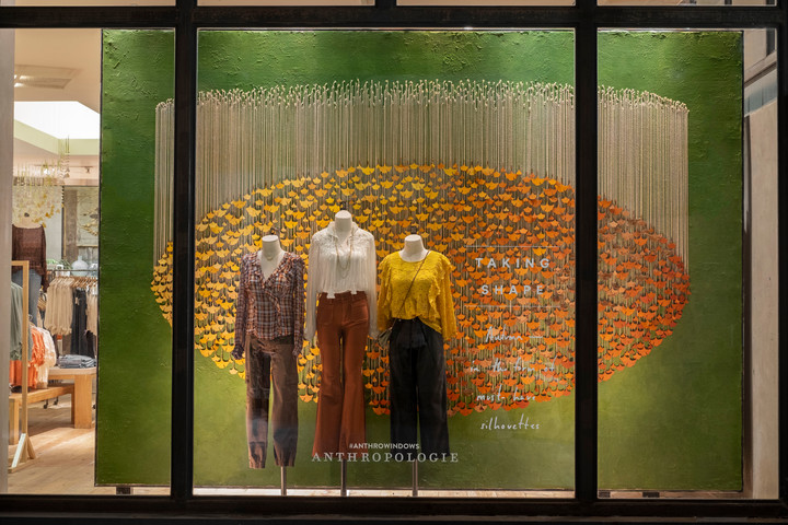 Fall Retail Window Display