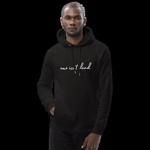 eMo iSn'T dEaD Unisex pullover hoodie