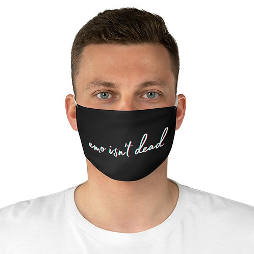 eMo iSn'T dEaD Fabric Face Mask