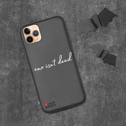 eMo iSn'T dEaD Biodegradable phone case