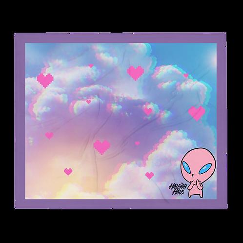 Disko the Alien Throw Blanket