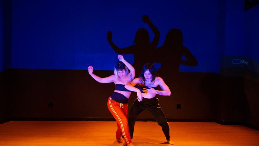Melissa Lewis and Malia Byrne
