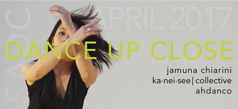 April 8-9, 2017  Jamuna Chiarini,  ahdanco,  & ka.nei.see|collective