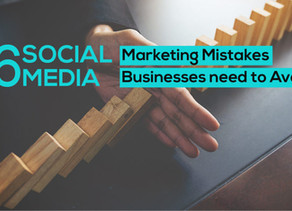 6 Social Media Marketing Mistakes To Avoid