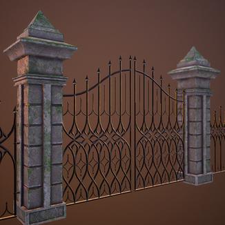 Modular Gothic Fence