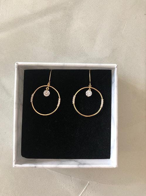 62 Round earrings