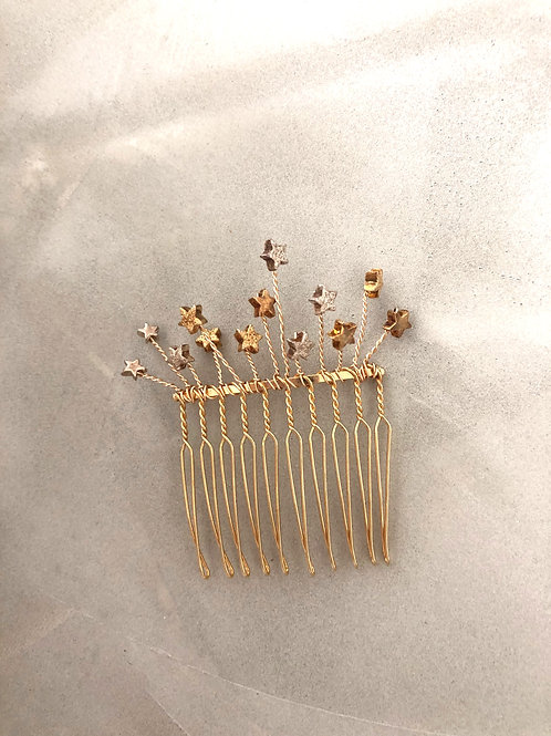 56 Star medium hair comb