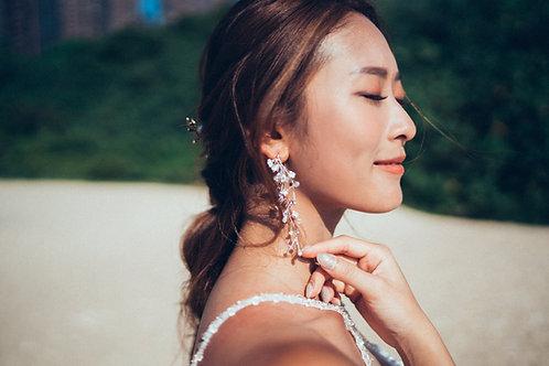 Myra earrings (Lavender version)