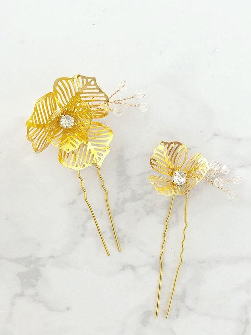 45 Poppy hair pin (Swarovski)
