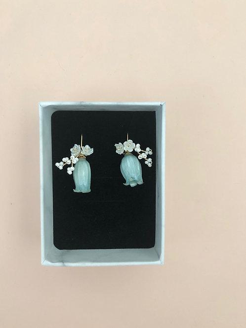 30 Belle earrings (Blue)
