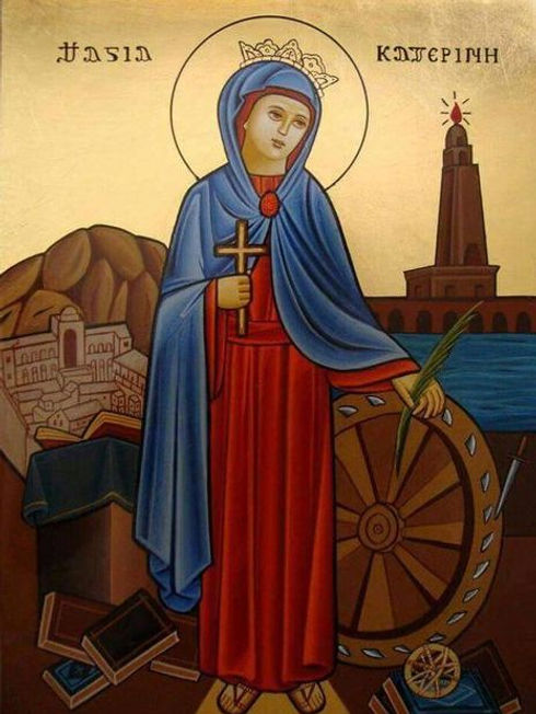 Coptic - St. Catherine Icon.jpg