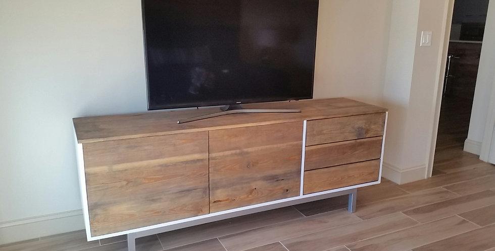 Modern Dresser with Chrome Base
