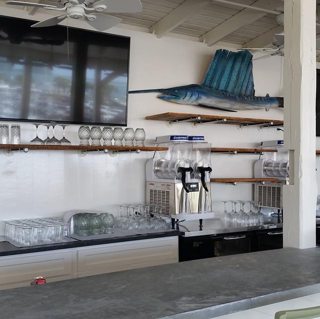 Custom Bar Shelves