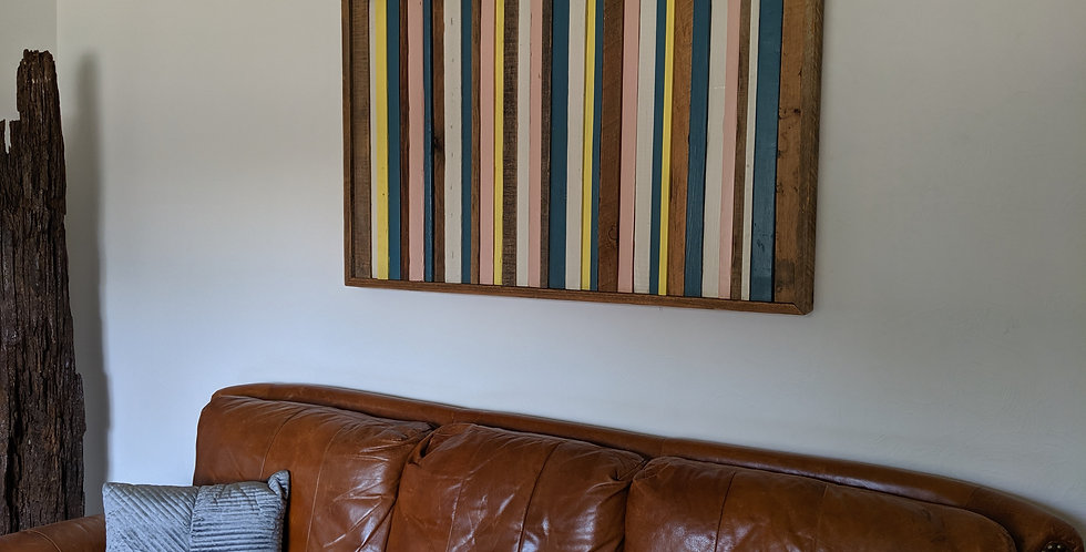 Vertical Multi-Color Wall Art