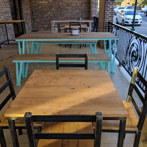 Restaurant Tables, Chairs, & Benches