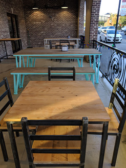 Porch Tables & Chairs