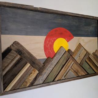 Colorado Mountain Wall Art