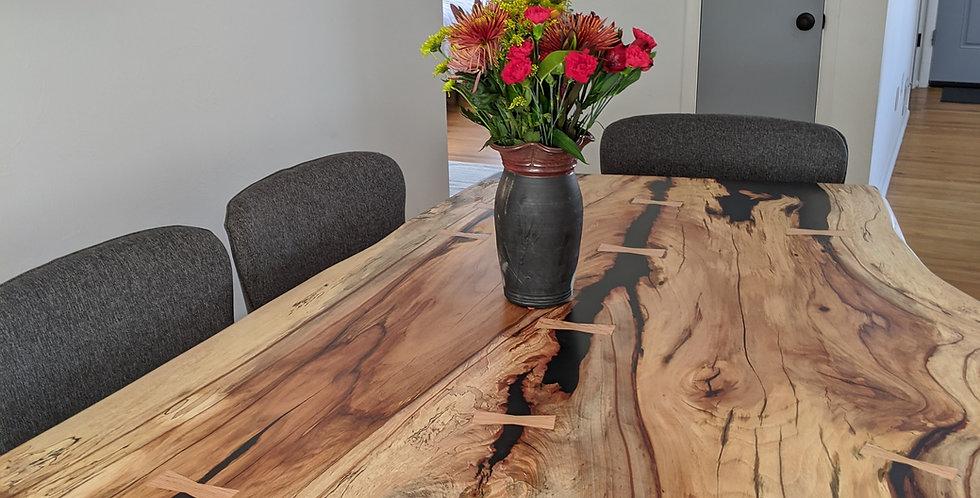 Pecan Slab Table