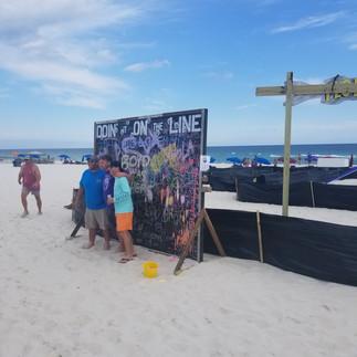 Giant Chalkboard